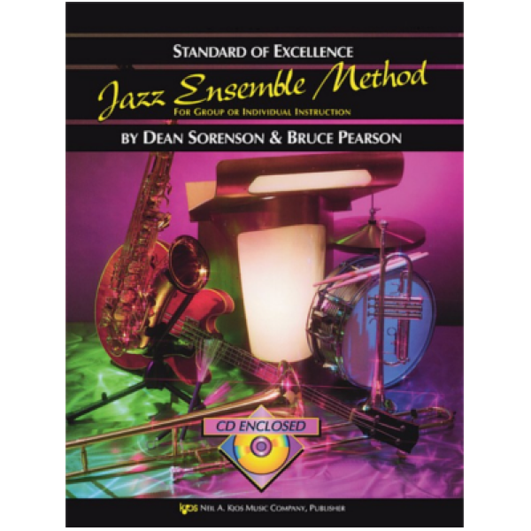 Jazz Ensemble Method 2nd Trumpet enc CD