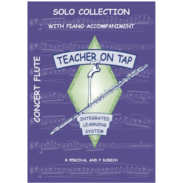 Teacher on Tap - Solo Collection - Flute