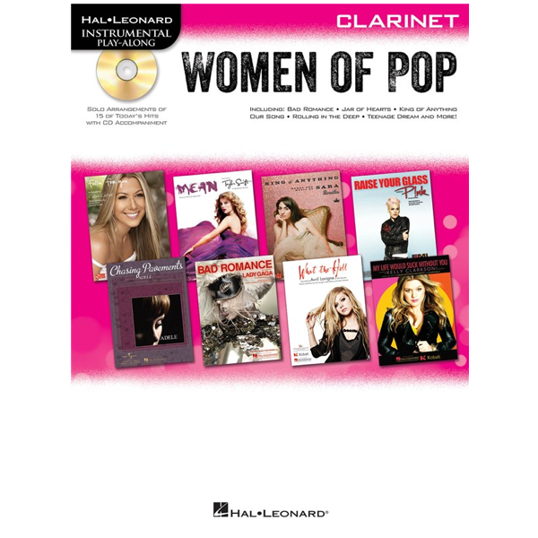 Women of Pop for Clarinet