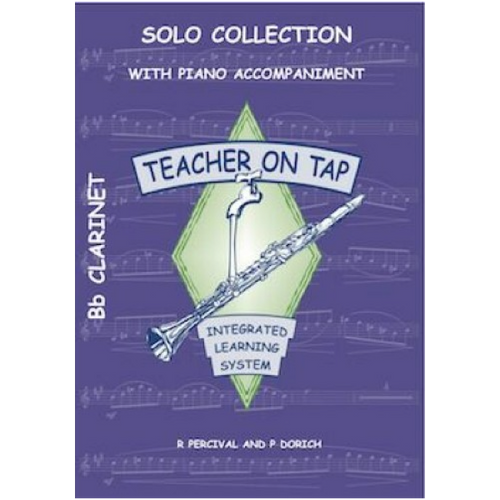 Teacher on Tap - Solo Collection - Clarinet