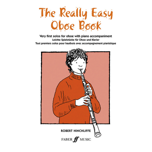 The Really Easy Oboe Book w/Piano Accompaniment - Robert Hinciffe