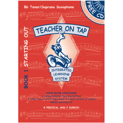 Teacher on Tap - Sop/Tenor Sax Bk1