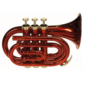 Jupiter JTR516R Pocket Trumpet - Red (2nd Hand)