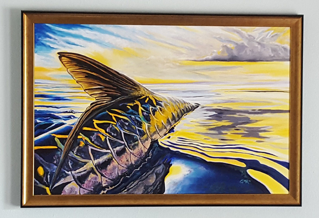 Sunset Tarpon - SOLD