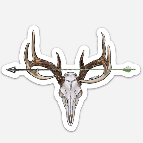 Archery Euro Mount Sticker