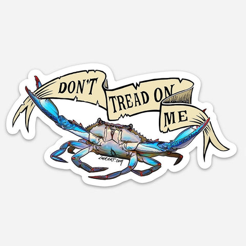 Gadsden Crab Sticker