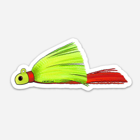 Snook Jig Sticker