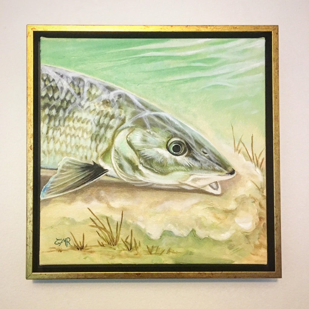 """Mudding Bonefish"" Print"
