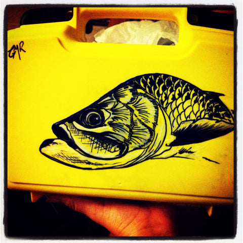 Custom Fly Box - Tarpon - SOLD