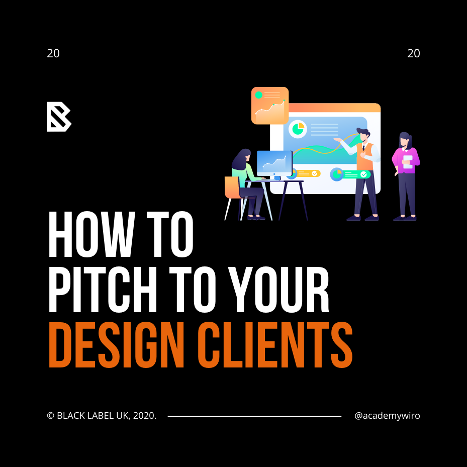 How to pitch your designs to clients