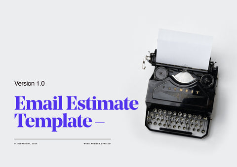 Email EstimateTemplate