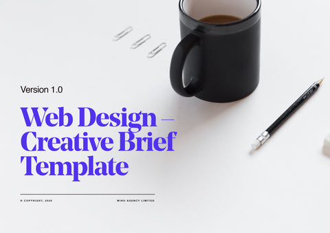 Web Design Creative Brief Template