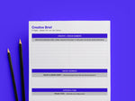 Creative Brief Template