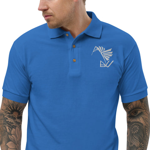 BuildYourVibe® Embroidered Polo Shirt