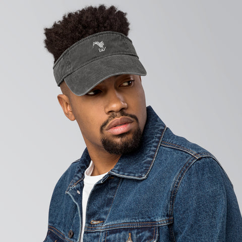 BuildYourVibe® Denim visor