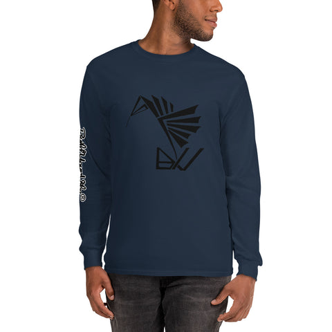 BuildYourVibe® Men's Long Sleeve Shirt