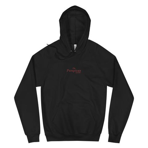 The Perspicax® Embroidered Unisex Fleece Hoodie