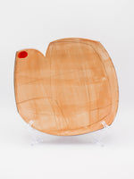 Dehmie Dehmlow: Cutout Plate with Red Dot