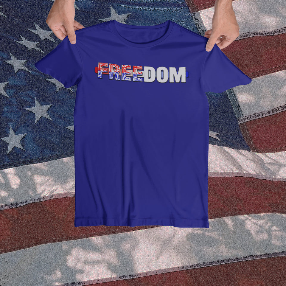 Women's Freedom Tee - JW's Printing & Apparel