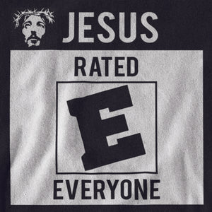 Women's Jesus Rated E Tee - JW's Printing & Apparel