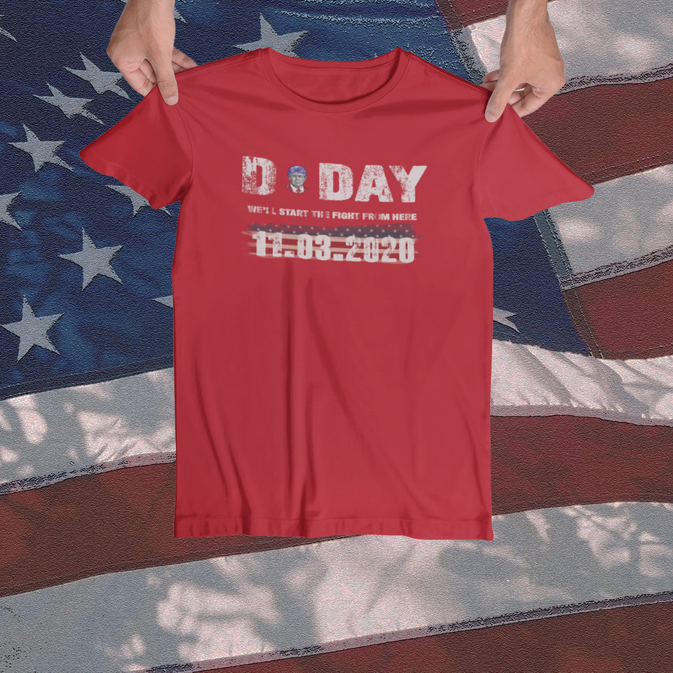 Women's D-Day Tee - JW's Printing & Apparel