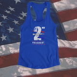 Women's 2nd Amendment Racerback Tank - JW's Printing & Apparel