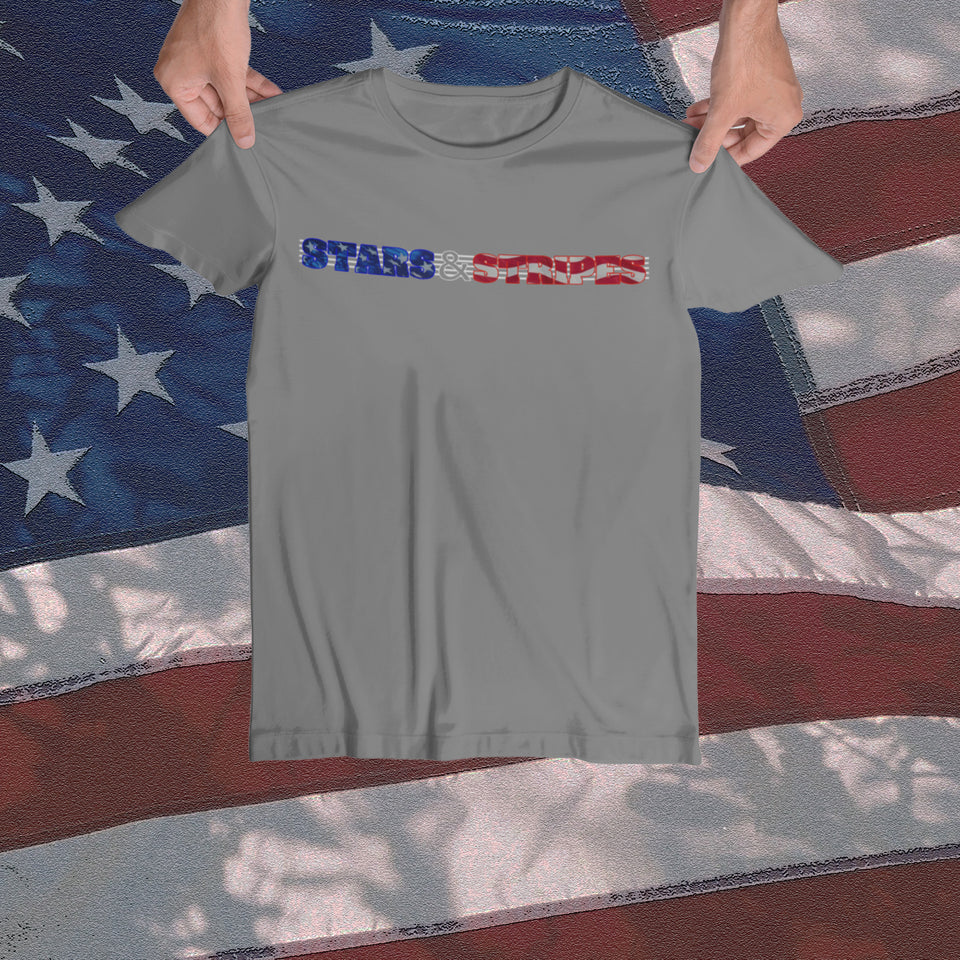 Stars & Stripes Tee - JW's Printing & Apparel