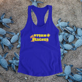 Women's Storm the Beaches Racerback Tank - JW's Printing & Apparel