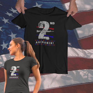 Women's 2nd Amendment Tee - JW's Printing & Apparel
