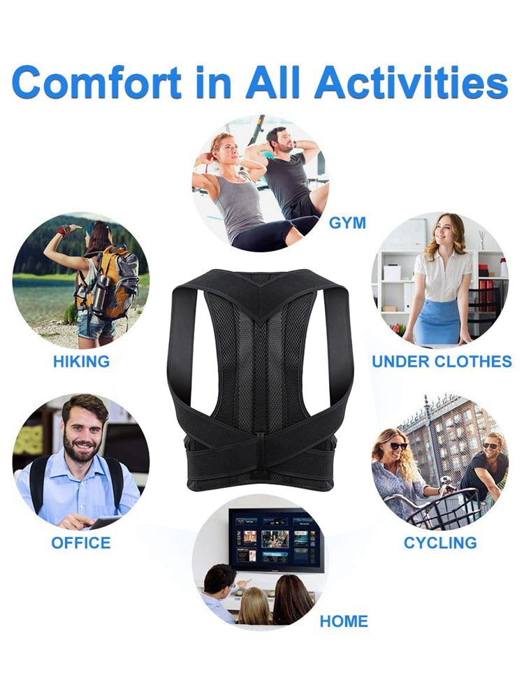 Aptoco Back Supporting Posture Corrector