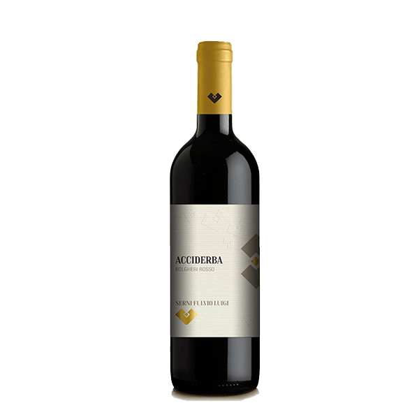 Acciderba 2016 Bolgheri DOC - Serni Fulvio
