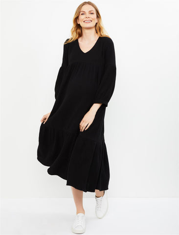 Rachel Pally Cecelia Maternity Dress in Black