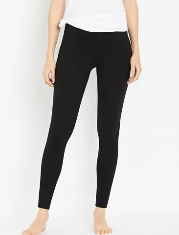 Ripe Under Belly Maternity Leggings in Black