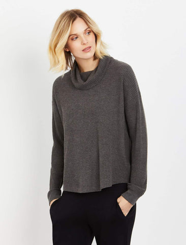Splendid Maternity Sweatshirt in Grey