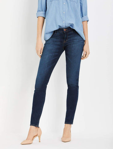 Jbrand Side Panel Skinny Leg Maternity Jeans in Sublime Wash