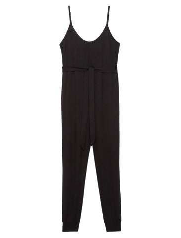 Relaxed Fit Maternity Jumpsuit in Black