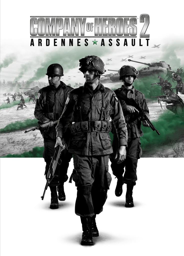 Company of Heroes 2: Ardennes Assault RU VPN Required Steam Gift