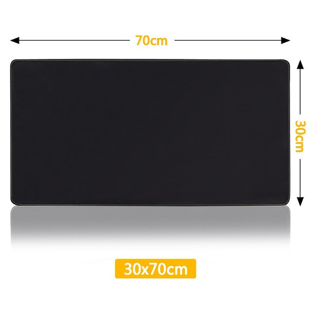 Black Gaming MousePad
