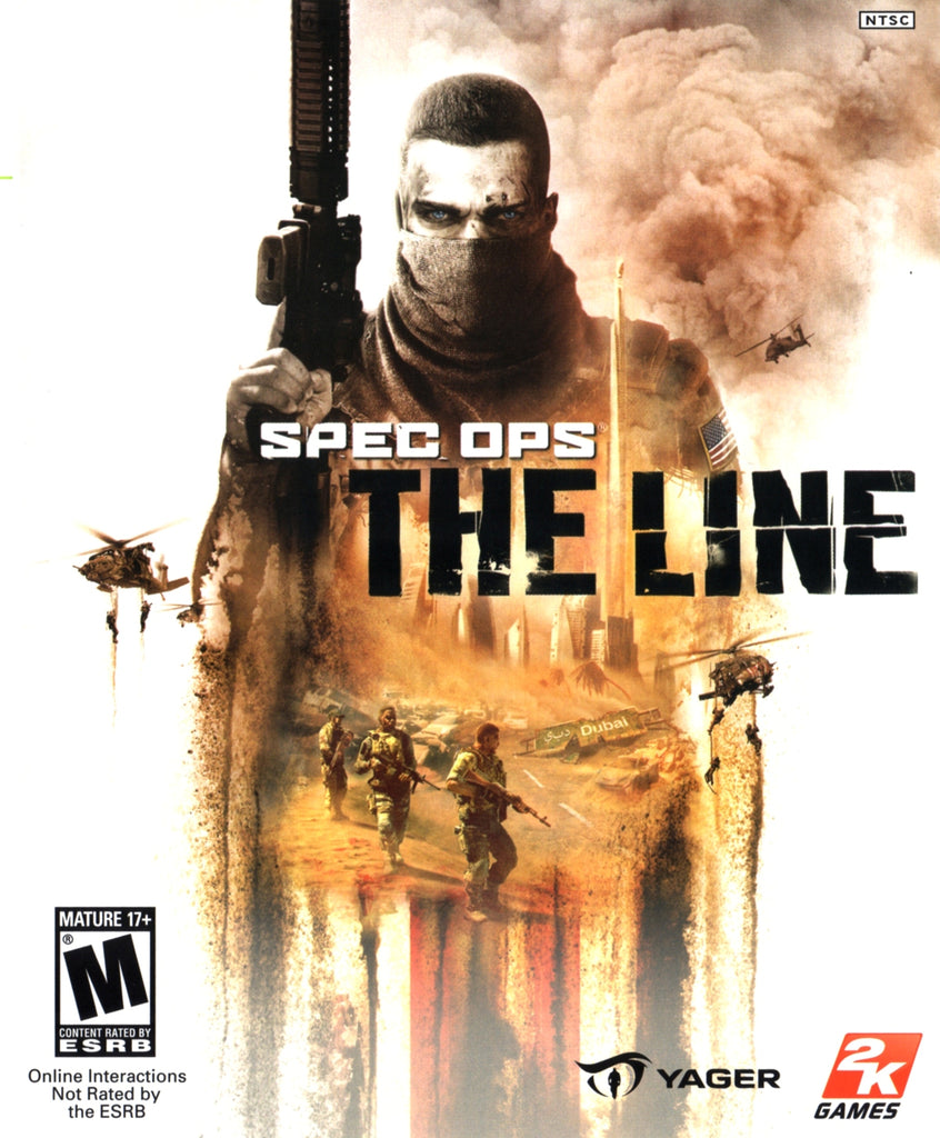 Spec Ops The Line RoW Steam CD Key