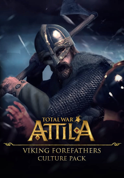 Total War: ATTILA - Viking Forefathers Culture Pack DLC Steam CD Key