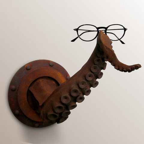 Rust Tentacle Wall Decor