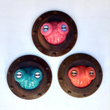 Octopus Eyes Porthole Sculpture (Small)