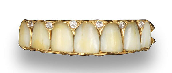 Teeth and Hair in Antique Jewellery - The Curiousness of Victorian Sentimentality