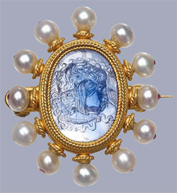 Castellani Brooch c. 1870