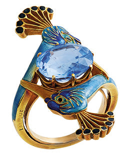 ring by rene lalique sold by christies