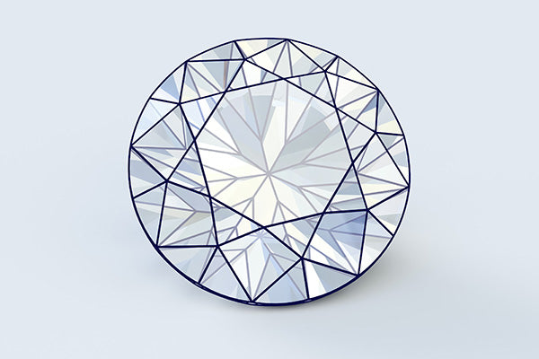 Modern Round Brilliant Diamond
