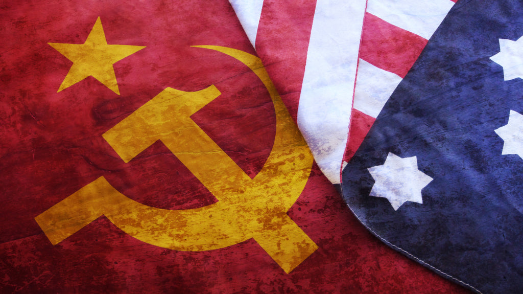 USSR vs USA and the Cold War