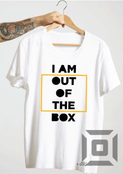 tricou alb out of the box