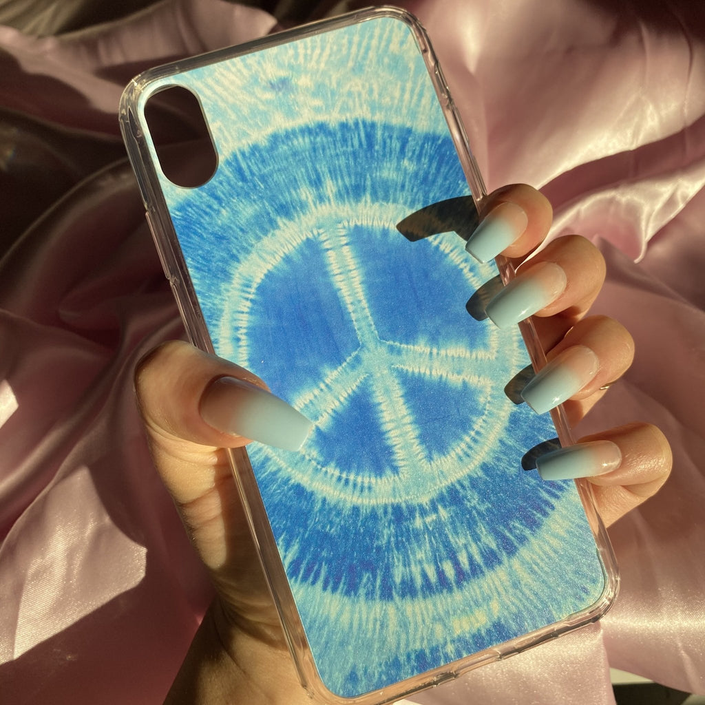 Blue Peace iPhone Case - blunt cases