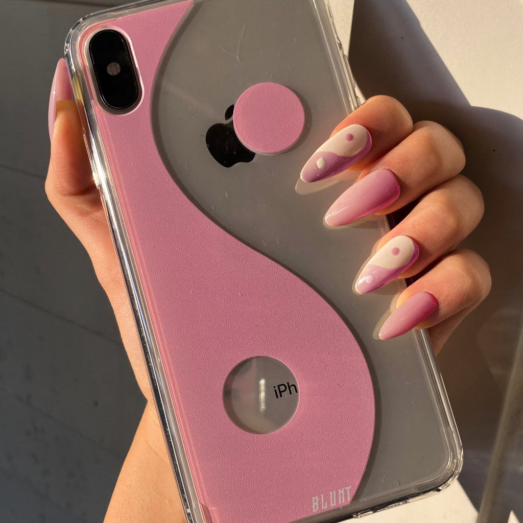 Pink Balance iPhone Case - blunt cases